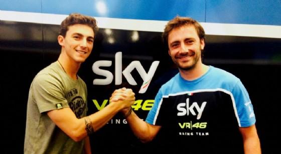 Moto3, dura decisione del team Sky: Romano Fenati sospeso