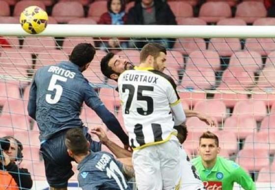 Il difensore francese Thomas Heurtaux (© Udinese)
