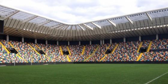 Il nuovo stadio Friuli