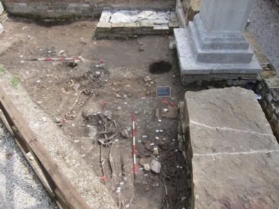 Le nuove scoperte nell'area archeologica (© Fondazione Aquileia)