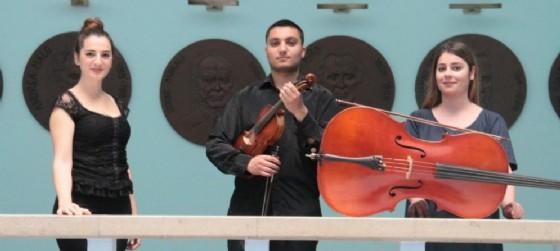 Il Trio di Tirana a Sesto al Reghena (© Ufficio Stampa Festival Nei Suoni dei Luoghi)