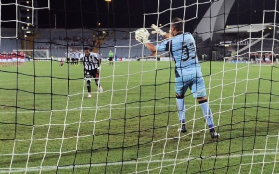 Il folle rigore calciato da Maicosuel (© Udinese)