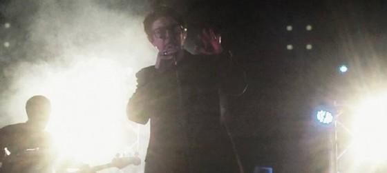 Garbo durante il suo concerto a Terenzano (Udine) (© Diario di Udine)