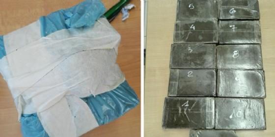 La droga recuperata dagli uomini dell'Arma (© Carabinieri)