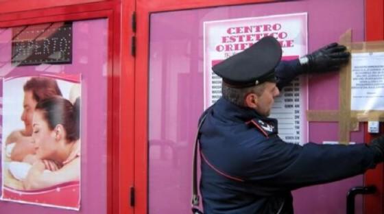 Controlli dei carabinieri nei centri massaggi della provincia (© Diario di Udine)