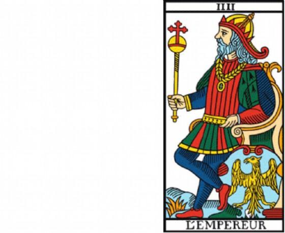 L'emperereur il tarocco di Giorgio Santuz