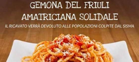 Nuova iniziativa solidale a Gemona in favore terremotati del centro Italia (© Sei di Gemona se   Facebook   Mirko Ricci)