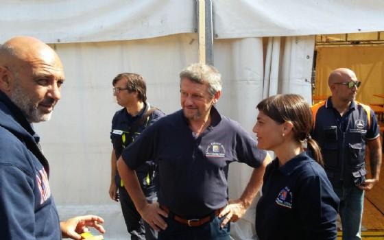 Serracchiani in visita alle zone terremotate (© Regione Friuli Venezia Giulia)