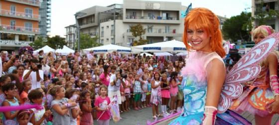 Arrivano le Winx e le loro fan a invadere Lignano Sabbiadoro (© Winx Club)