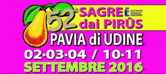 Nuovo appuntamento enogastronomico a Pavia di Udine (© Sagra delle Pere | Facebook)