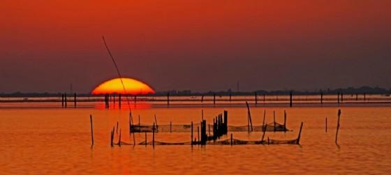 Ultimi attimi, un'immagine che 'racconta' la laguna di Marano (© Schuf Margitta)