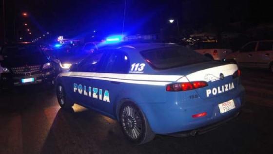 Inseguimento della polizia nel centro di Udine (© Polizia di Stato)