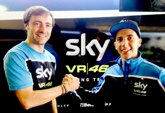 Moto3, Andrea Migno con lo Sky Racing TeamVR46 anche nel 2017