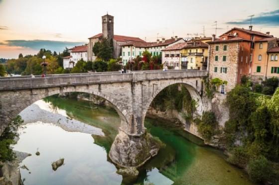 Il ponte del Diavolo a Cividale (© Getty)