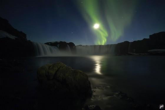 Goðafoss da un altro punto di vista