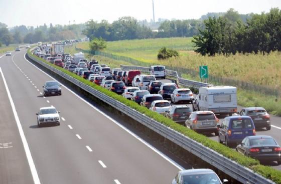 Lunghe code sulle autostrade del Fvg (© Diario di Udine)