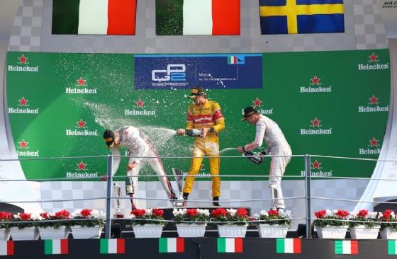 Gp2/Grandissimo Giovinazzi in gara 1 a Monza: parte ultimo e arriva primo