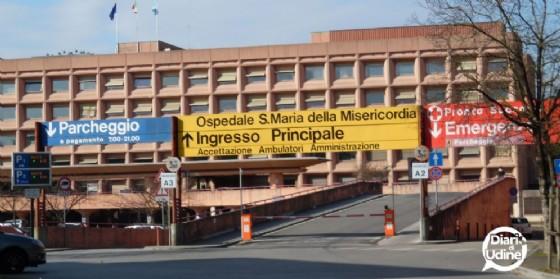 L'ospedale di Udine (© Diario di Udine)
