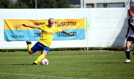 Lana Clelland, 10 gol in due partite (© Upc Tavagnacco)