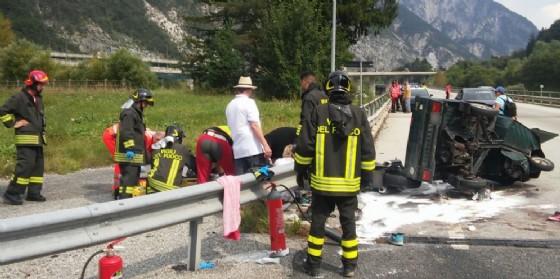 Le immagini dello spaventoso incidente (© Diario di Udine)