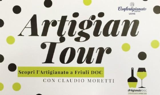 La cartolina che pubblicizza l'Artigiana Tour (© Confartigianato)