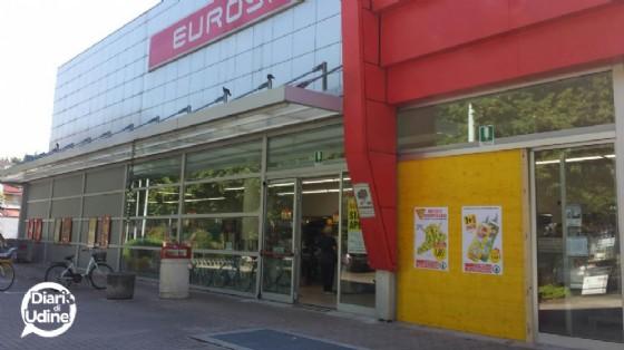 L'Eurospar presa di mira dai ladri (© Diario di Udine)