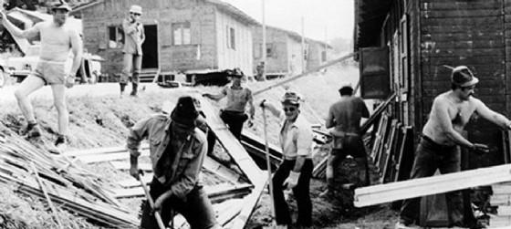 Un'immagine del terremoto del 1976 (© Diario di Udine)