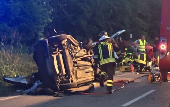 Le immagini del pauroso incidente sulla Ferrata
