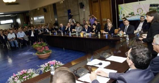 La seduta del Consiglio provinciale a Lignano (© Montenero)