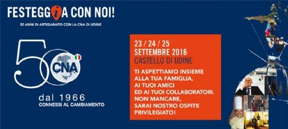 CNA compie 50 anni e festeggia alla grande al Castello di Udine (© CNA Udine)