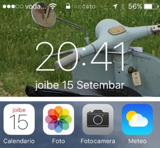 Aggiornamenti in friulano sugli iPhone (© Diario di Udine)