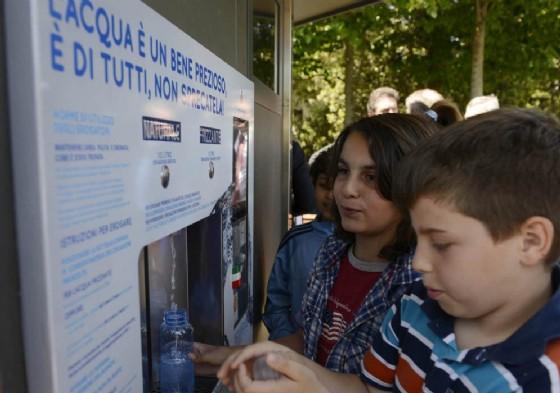 Una delle case dell'acqua attive in regione (© Regione Friuli Venezia Giulia)