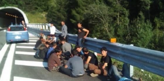 Migranti rintracciati nel Tarvisiano (© Diario di Udine)