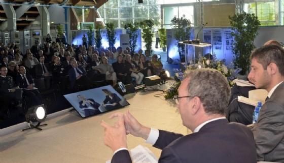 Il vicepresidente della Regione parla alla platea (© Regione Friuli Venezia Giulia)