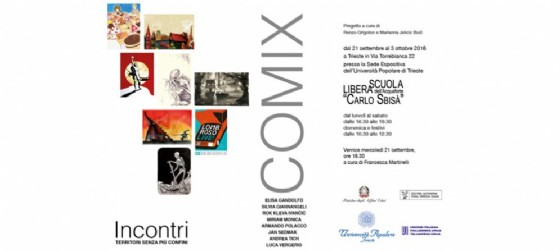 Comix: illustrazioni in mostra a Trieste