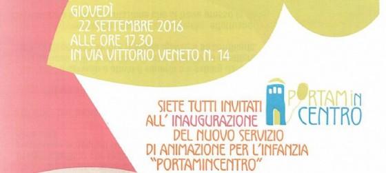 Portami in centro: lo spazio dedicato all'animazione per l'infanzia a Udine (© Portami in centro | Facebook)