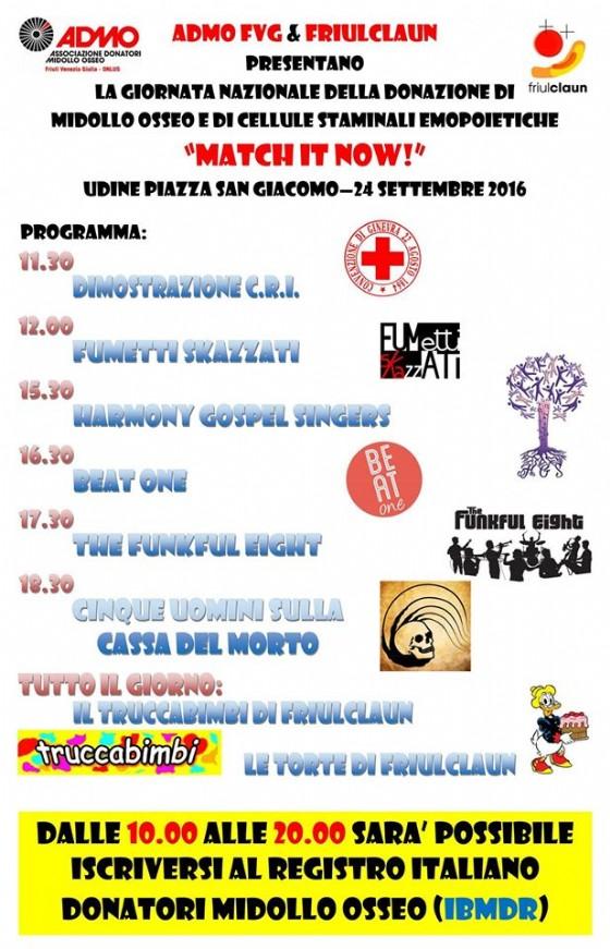 Admo Udine dà appuntamento in piazza San Giacomo, qui il programma