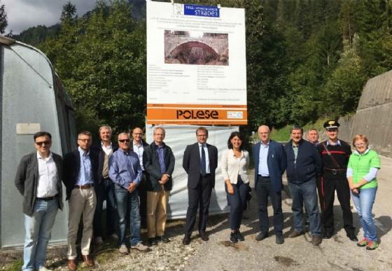 La consegna dei lavori avvenuta a Prato Carnico (© Regione Friuli Venezia Giulia)