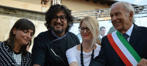 Debora Serracchiani, Alessandro borghese, Ana Zavrtanik Ugrin, Ettore Romoli (© Area 12)