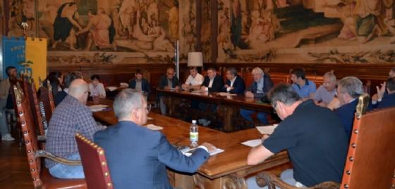 L'incontro ospitato a palazzo Belgrado (© Provincia Ud)