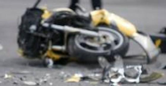 Incidente in moto ad Aretina (© Diario di Udine)