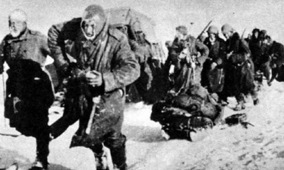 La ritirata degli alpini in Russia (© Penne nere)