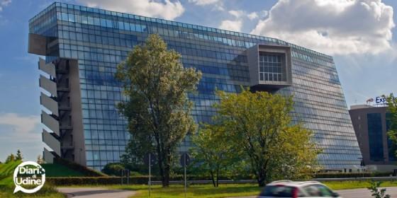 La sede della Hypo a Tavagnacco (© Diario di Udine)