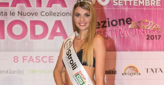 La nuova miss, Arianna Masotti (© Città Fiera)