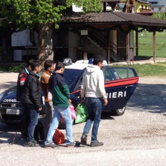Clandestini rintracciati a Tarvisio (© Diario di Udine)