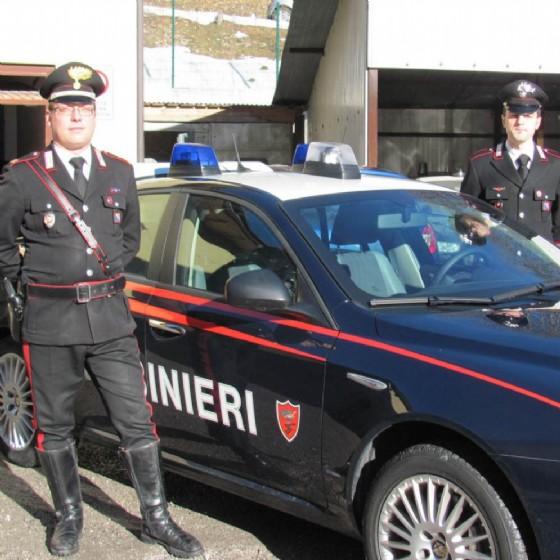 I carabinieri di Tarvisio (© Diario di Udine)