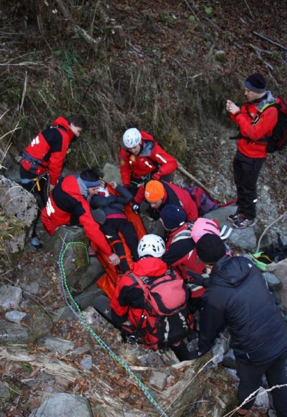 Un'operazione di soccorso (© Diario di Udine)