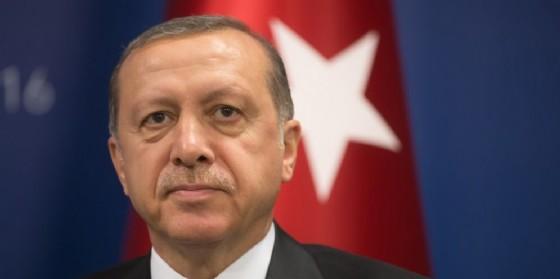 Il presidente turco Tayyp Recep Erdogan. (© Drop of Light   Shutterstock.com)