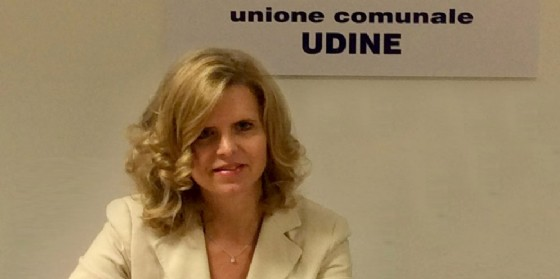 Monica Paviotti capogruppo del Pd di Udine