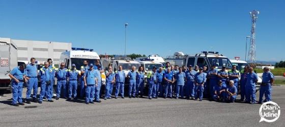Volontari della Pc esempio in Italia e nel mondo (© Diario di Udine)